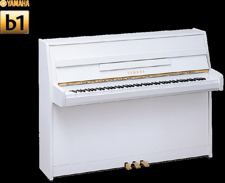 Le piano Yamaha B1 blanc