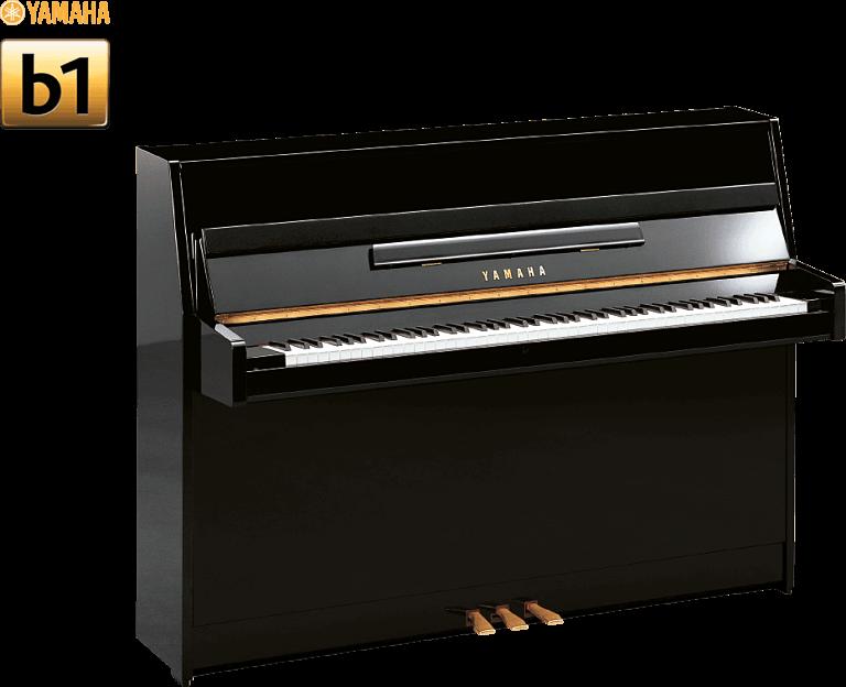 Le piano Yamaha B1 noir